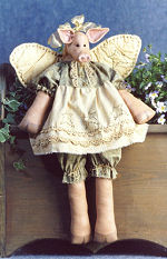 Collectible Cloth Doll - Hog Heaven