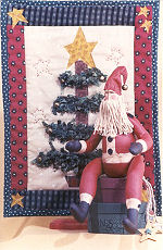 Collectible Cloth Doll - Belsnickle - Santa