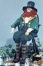 Collectible Cloth Doll - Robbie the Leprechan