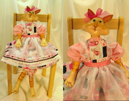 Lilly Cat  Doll Pattern