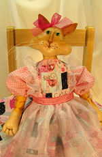 Collectible Cloth Doll - Lilly Cat