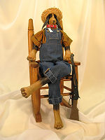 Collectible Cloth Doll - Hound Dog