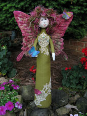 Collectible Cloth Doll - Butterfly Princess