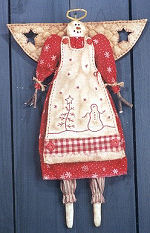 Collectible Cloth Doll - Snow Angel