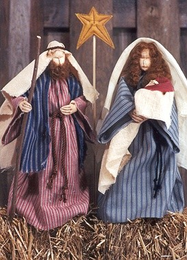 Jesus and Mary Cloth Doll Patterns