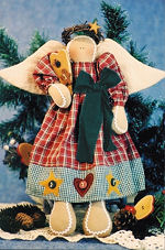 Collectible Cloth Doll - Sweet As an Angel