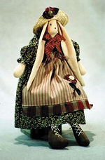 Collectible Cloth Doll - Brooke - Bunny