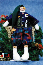 Collectible Cloth Doll - Freezier - Snowman