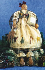 Collectible Cloth Doll - Just an Old Cookie