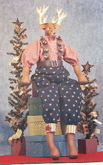 Collectible Cloth Doll - Rudy