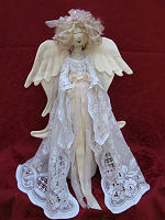 Collectible Cloth Doll - Heavenly Angel