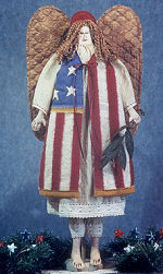 Collectible Cloth Doll - Glory