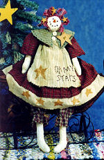 Collectible Cloth Doll - Oh My Stars