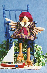 Collectible Cloth Doll - Just Duckie - Duck