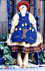 Collectible Cloth Doll - My Family Tree
